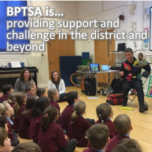 bptsa is providing support and challenge in the distract and beyond